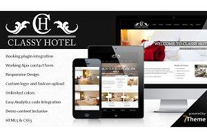 Classy - Classic Hotel WP Theme