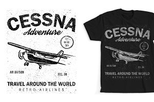 Cessna T-shirt Design