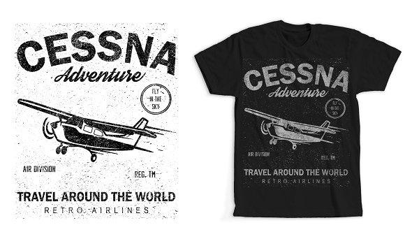 Cessna T-shirt Design