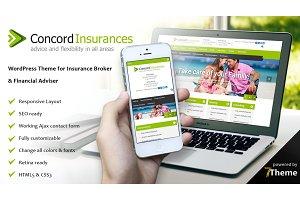 Concord - Financial Services Theme