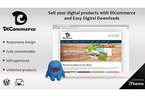 DiCommerce - Easy digital downloads