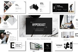 Hypebeast Minimal Modern Template
