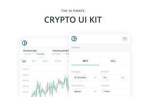 Mobile Crypto Web UI Kit