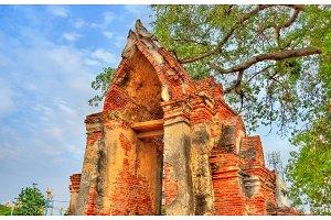 Wat Ratchaburana Temple in Ayutthaya, Thailand