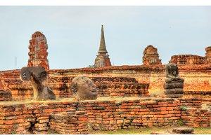 Wat Mahathat at Ayutthaya Historical Park, Thailand