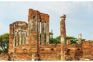 Wat Phra Si Sanphet temple in the Ayutthaya Historical Park - Thailand