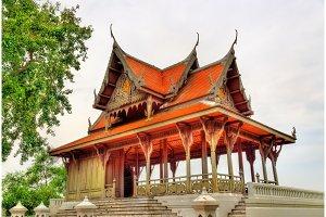 Santi Chai Prakan Pavilion in Bangkok, Thailand