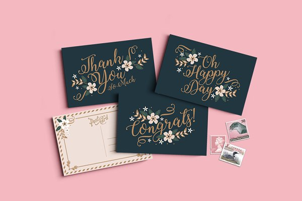 Card Templates: Werlang Paper - Monaco Greeting Cards