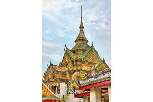 Wat Pho, a Buddhist temple complex in Bangkok, Thailand