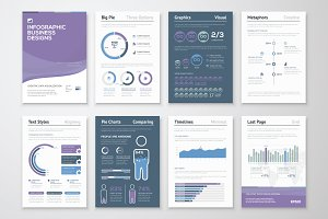 Infographic Brochure Elements 6