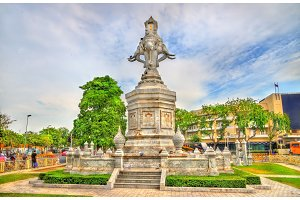 Monument in the old town of Bangkok, Thailand