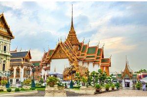 Temple at the Grand Palace in Bangkok, Thailand