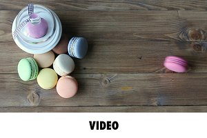 Video Macaron Cookie