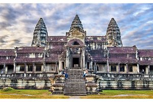 Bakan, the central sanctuary of Angkor Wat - Siem reap, Cambodia