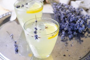 Lavender Lemonade, Refreshing Drink