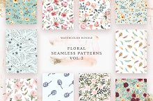 Floral Patterns Bundle Vol.2