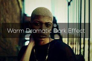 Warm Dramatic Dark Effect