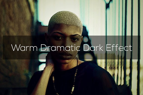 Warm Dramatic Dark Effect