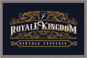 Royale Kingdom ~ Vintage Typeface