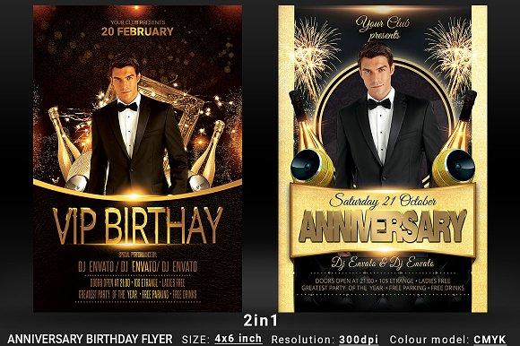 Anniversary Birthday Bundle 2in1