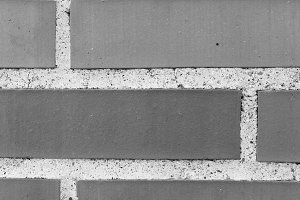 Brick Wall Detail in Black and White
