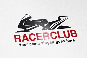Racer Bike Club Logo