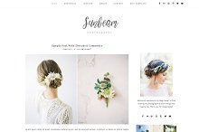 Sunbeam - Responsive Wordpress Theme by Maria Volkova in WordPress