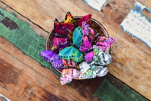 Bowl of Butterflies