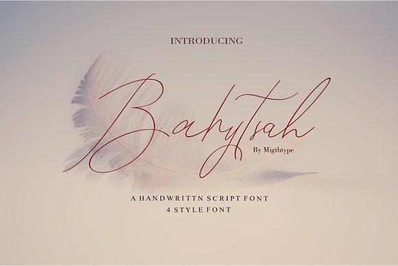 A New Bahytsah Script