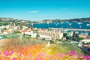 Mediterranean sea landscape
