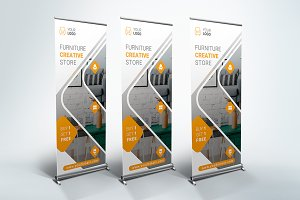 Furniture Roll Up Banner