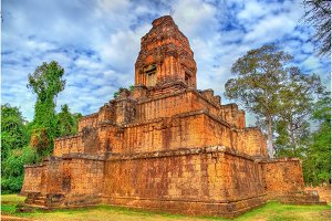 Baksei Chamkrong, a Hindu temple in the Angkor complex - Cambodia
