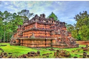 Phimeanakas Temple at Angkor Thom - Siem Reap, Cambodia