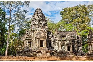 Thommanon Temple at Angkor, Cambodia