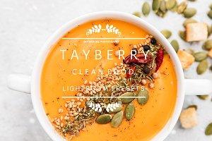 Tayberry Food Lightroom Presets