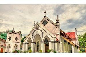 Zion Lutheran Church in Kuala Lumpur, Malaysia