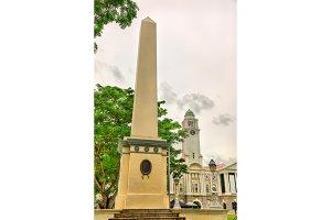 Dalhousie Obelisk in Singapore