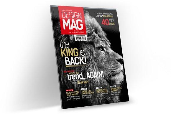 Magazine Template InDesign 07