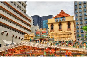Sri Krishnan Temple in Singapore