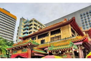 Kwan Im Thong Hood Cho Temple in Singapore