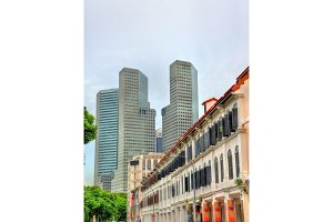 Buildings in Singapore Central Business District