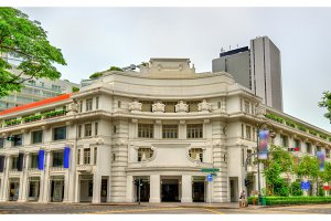 The Capitol Building in Singapore. Built in 1933