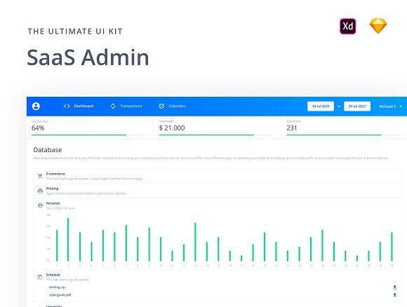 SaaS Admin UI Kit