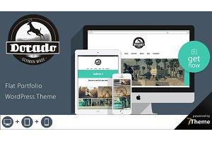 Dorado - Flat Portfolio WP Theme