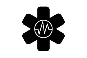 medical (ambulance) icon black