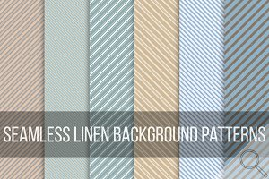 Seamless striped grunge patterns