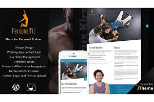 PersonalFit - Sport & Gym WP Theme