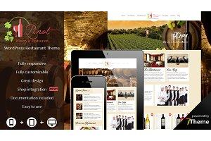 Pinot - Restaurant & Winery Theme
