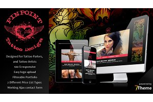 Pinpoint - Tattoo Studio WP Theme