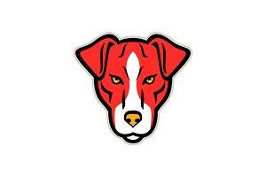 Plummer Terrier Dog Front Mascot